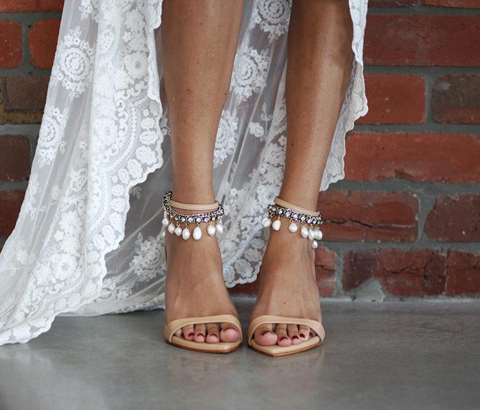 Boho Bridal Shoes Brautschuhe Dosa Heels