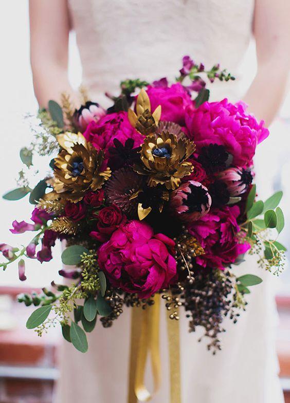 Boho Glam Bridal Bouquet Braustrauss