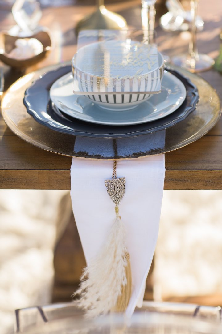 Boho Glam Table Scape