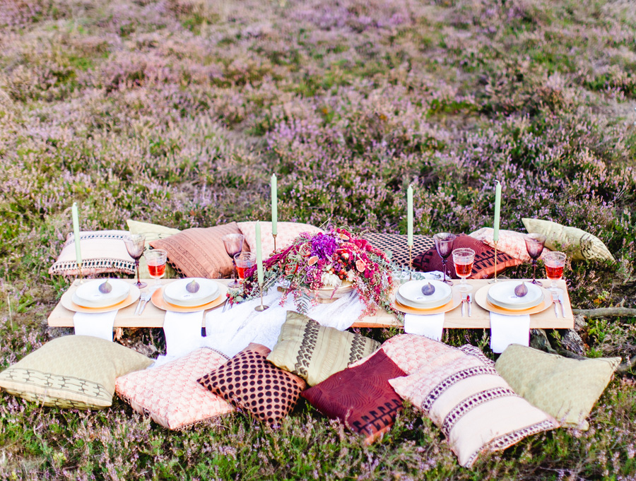 Boho Wedding Table Scape 02