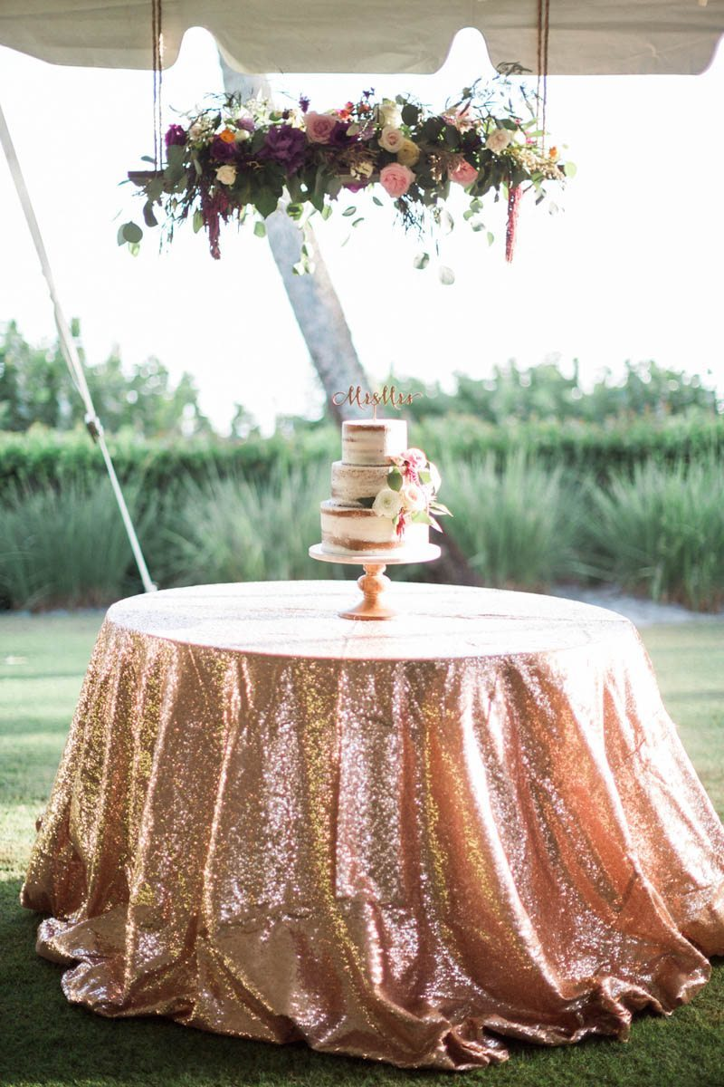 Glam Sequin Tablecloth