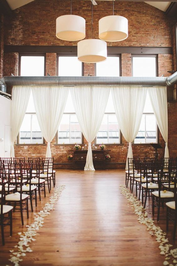 urban chic wedding venue industrial style