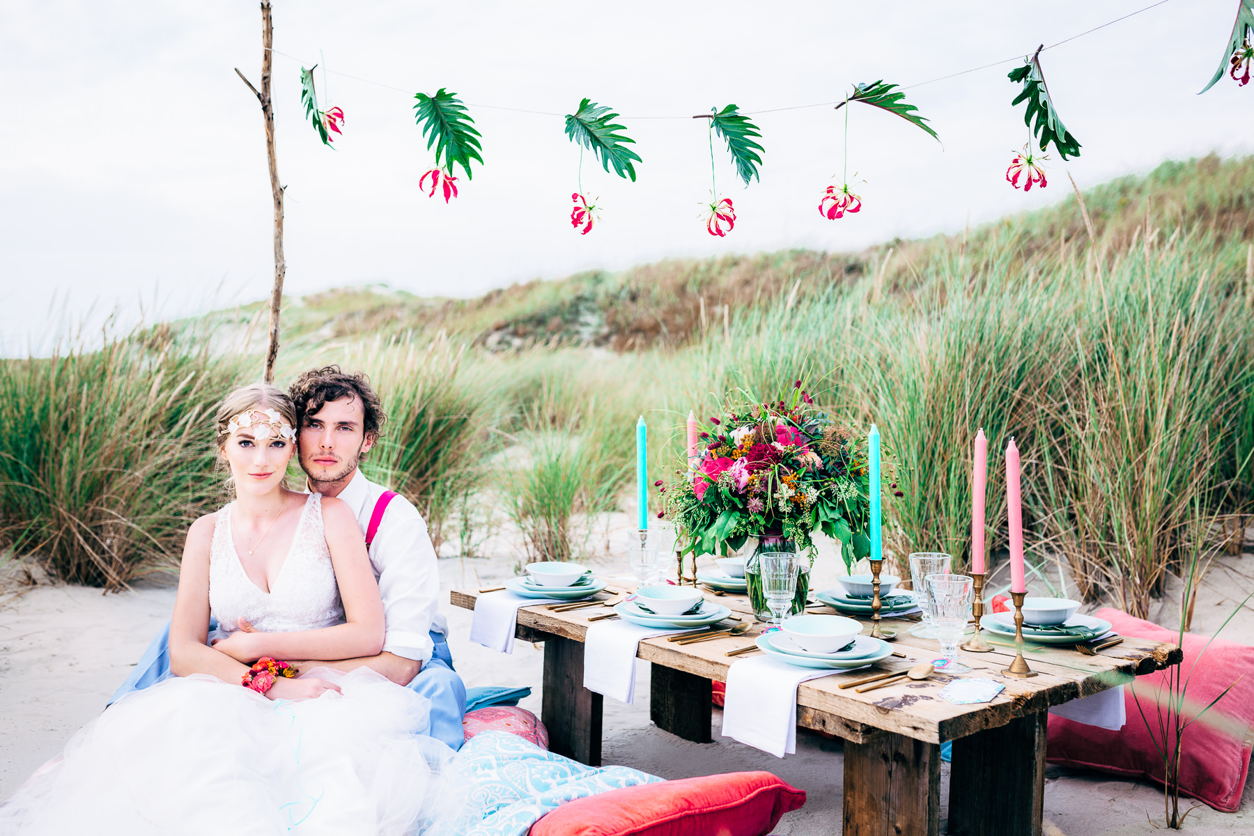 bohemian wedding picknick