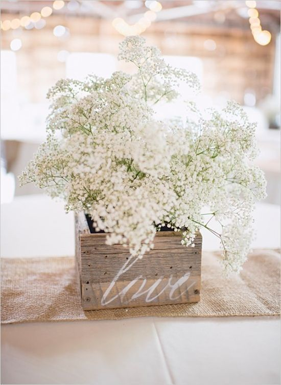 rustic wedding floral decoration