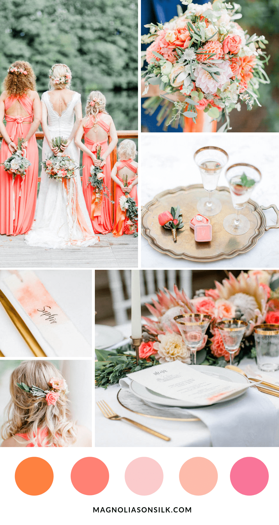 coral color inspiration