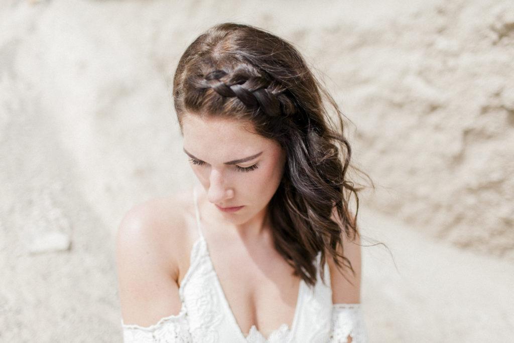 bridal hair, wedding hairstyle, braids