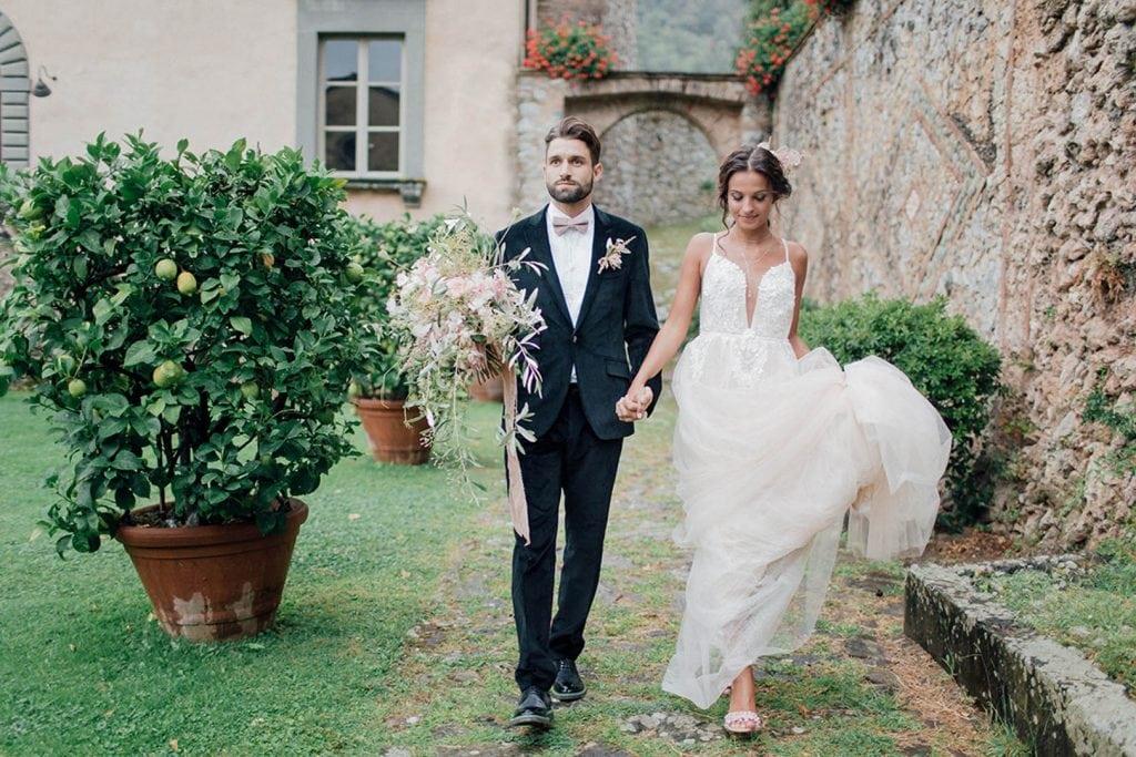 Villa Catureglio Tuscany Wedding Couple 3
