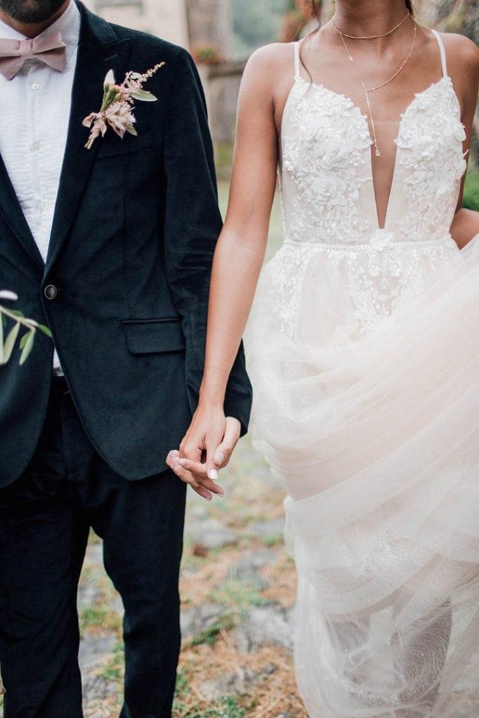 Villa Catureglio Tuscany Wedding Couple Details