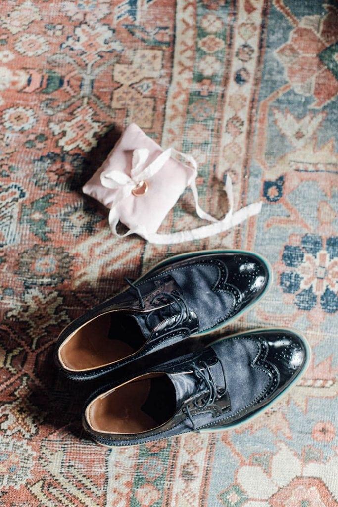 Villa Catureglio Tuscany Wedding Wedding Shoes