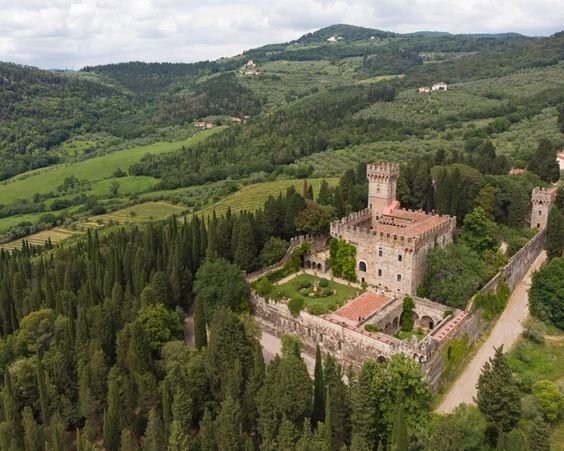 tuscany wedding location castle wedding