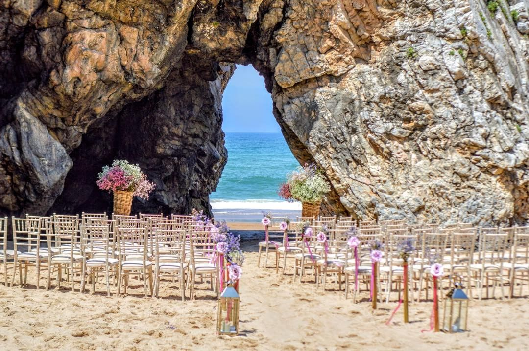 portugal destination wedding venue beach ceremony