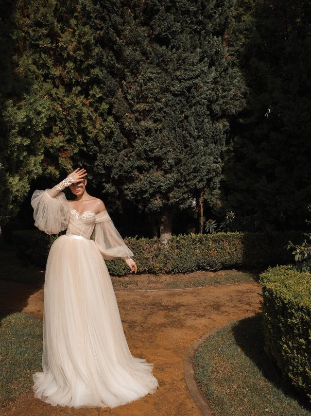 wedding trends 2019 bridal boho dress