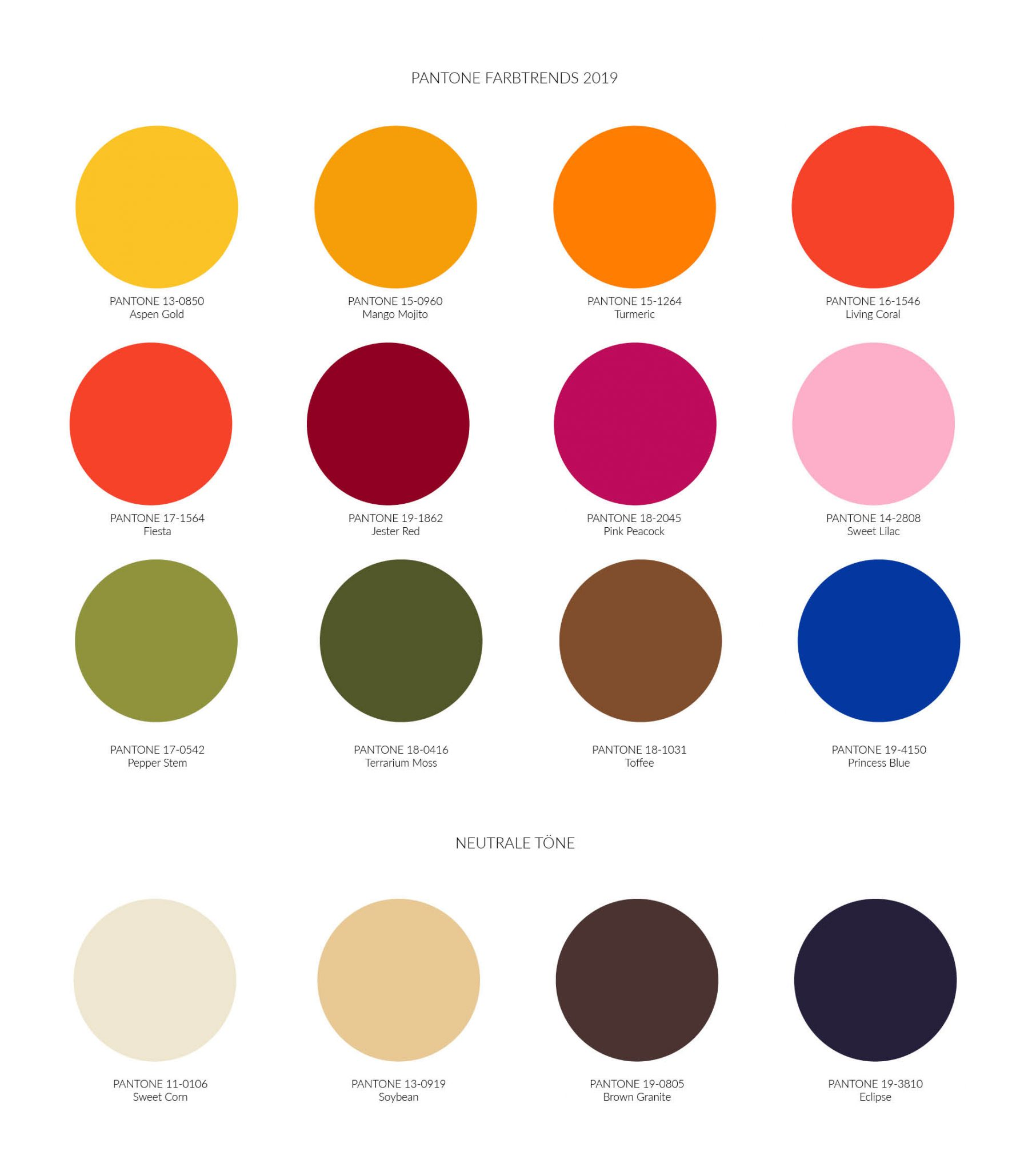 Magnolias On Silk Pantone Color Trends German