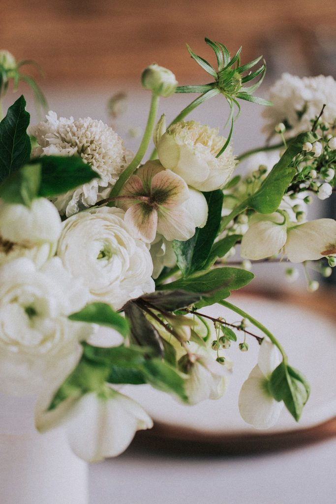 Magnolias On Silk Austria Winter Wedding Floral Details