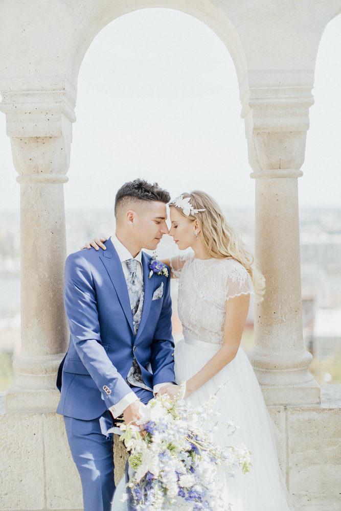 wedding paar in budapest