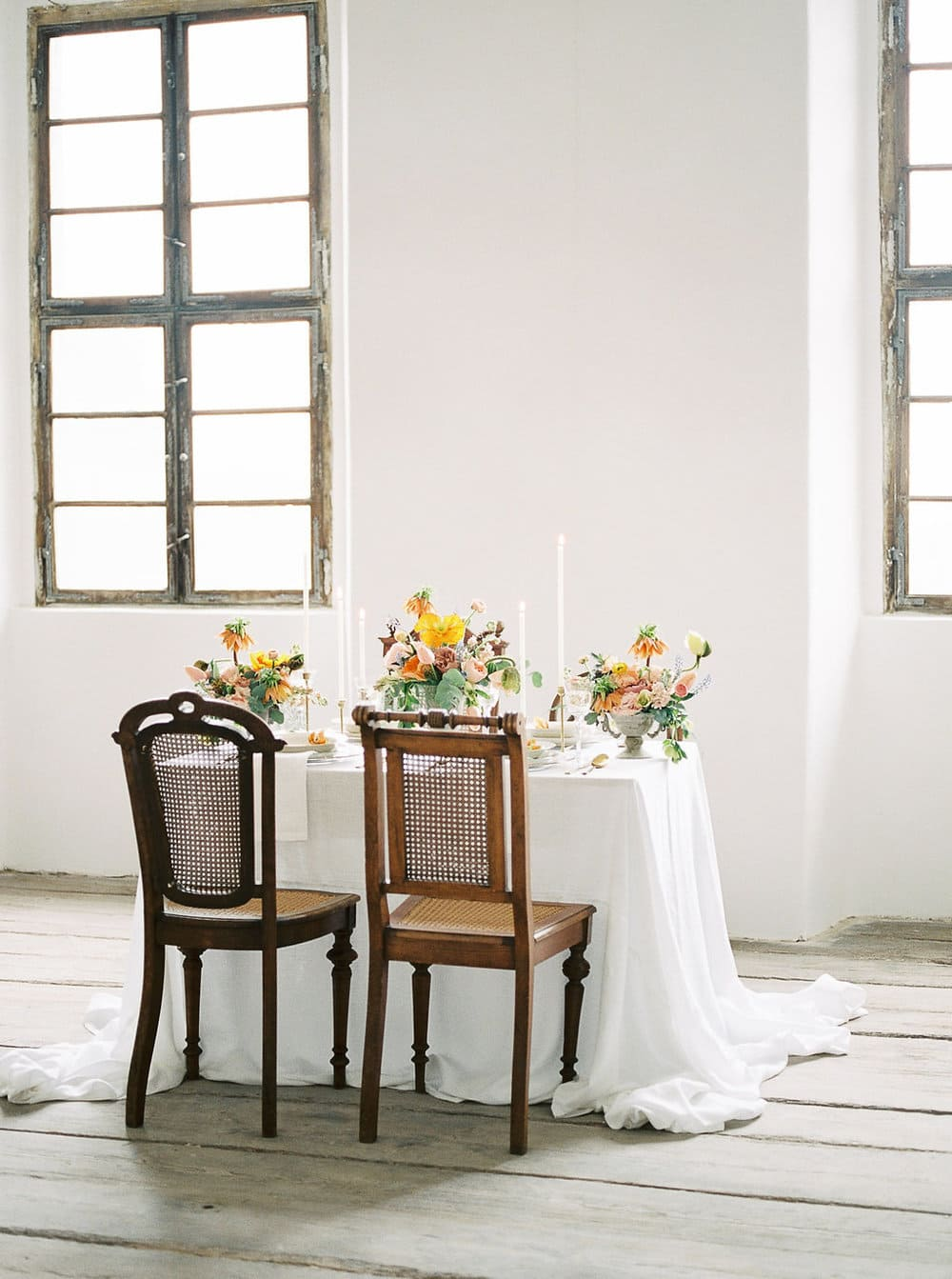 spiced colour table decoration