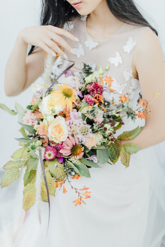 bridal bouquet, wedding flowers