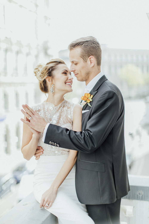 bridal couple, wedding couple, bride and groom
