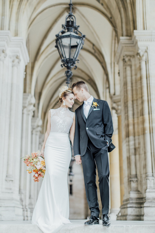 wedding ceremony, wedding styled shoot, bridal couple
