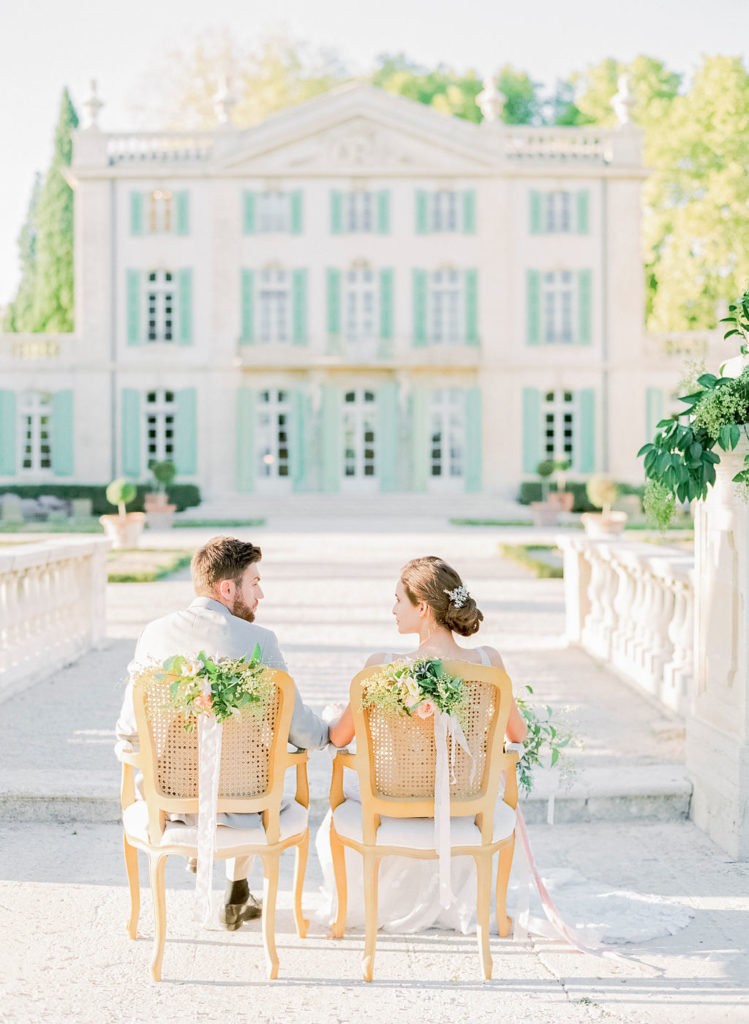 wedding in france, bride and groom, wedding ceremony