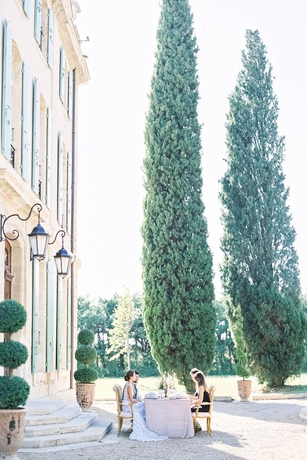 reception dinner, wedding reception, garden wedding, garden reception, chateau de tourreau, chateau wedding, wedding venue