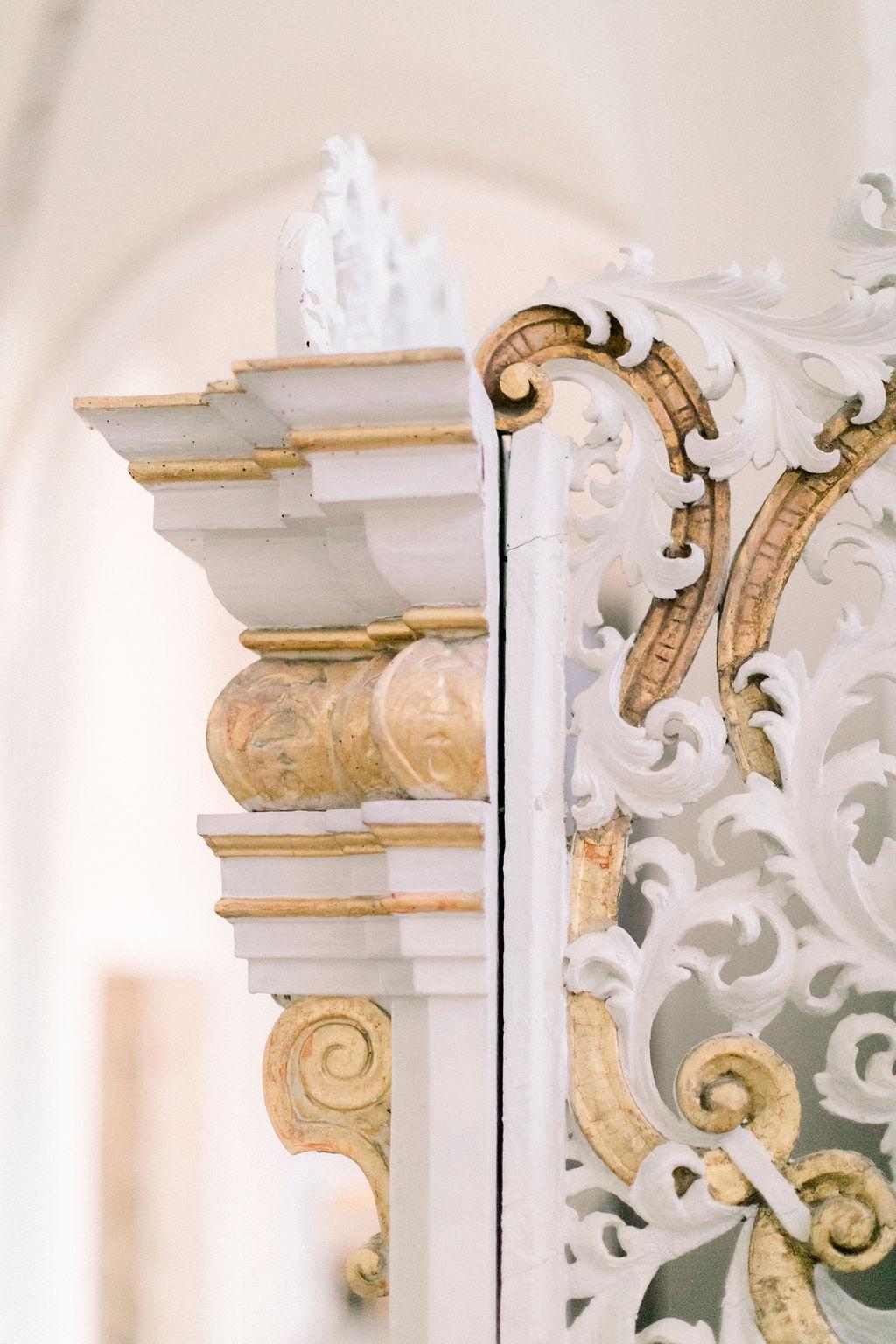 baroque ornaments, kloster wöltingerode, church wedding, wedding in germany