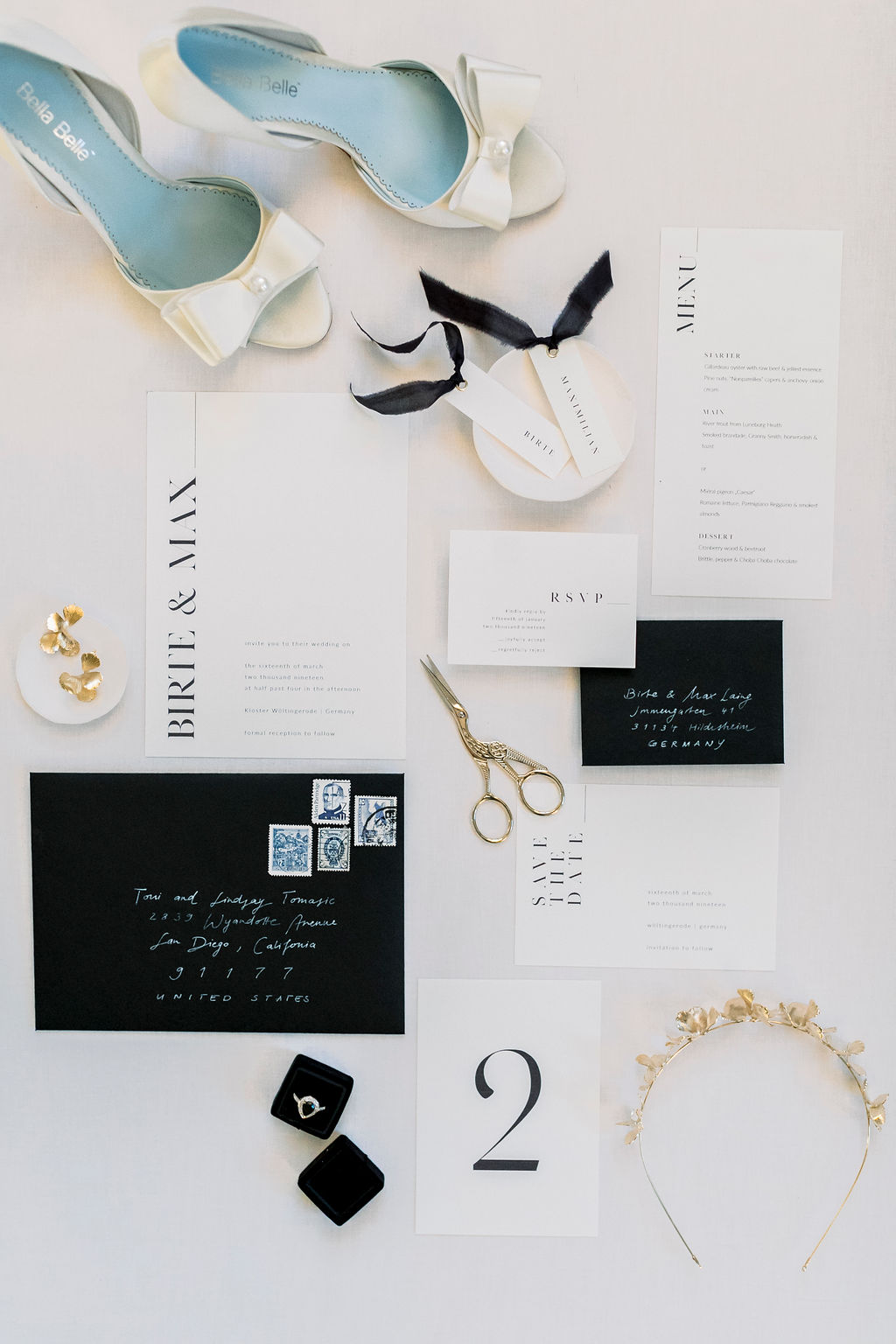 black-white-wedding-stationary-flatlay-2