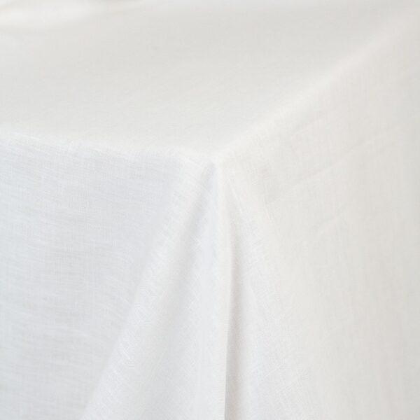 leinentischdecke weiß mieten für hochzeit, event, veranstaltung
